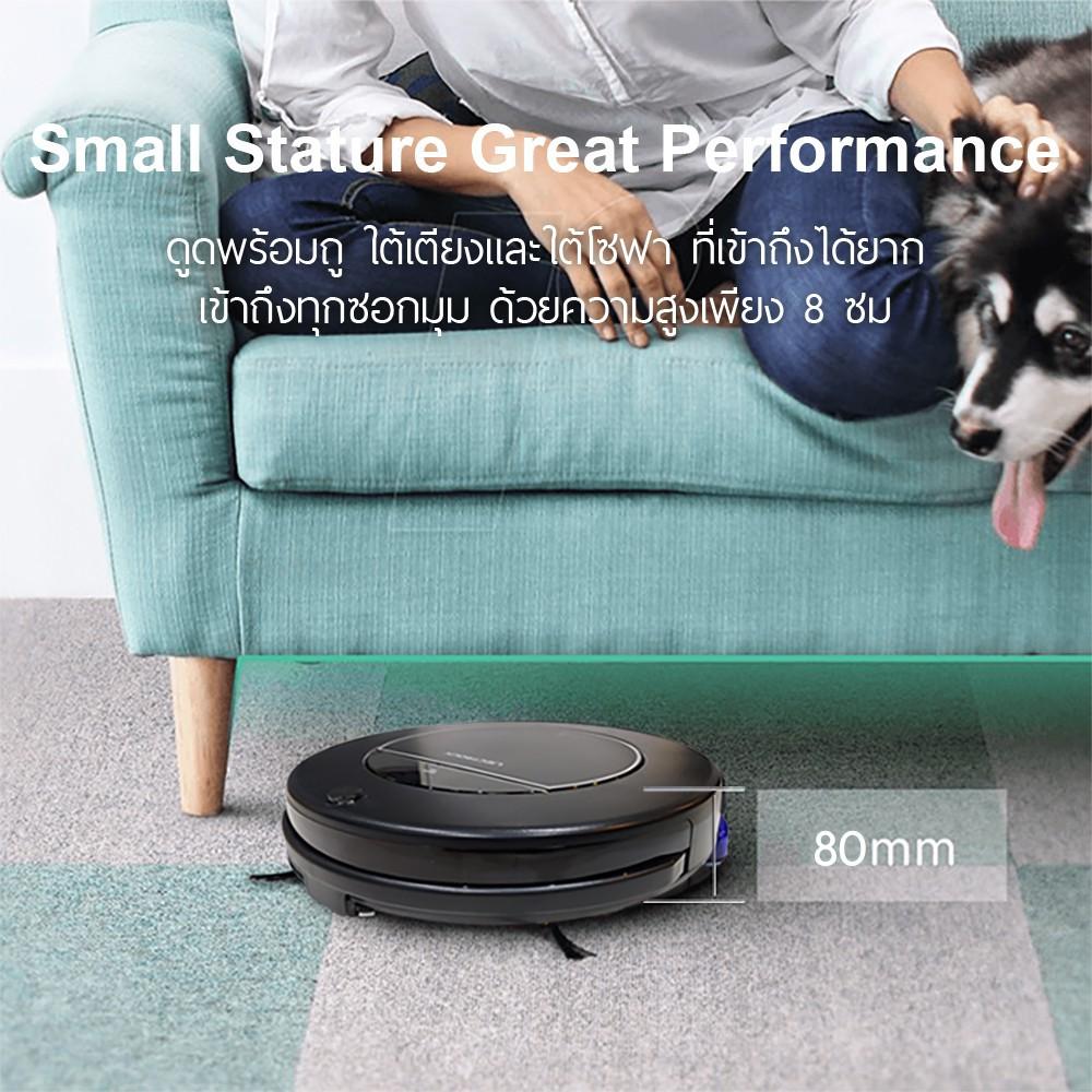✉⚡️หุ่นยนต์ดูดฝุ่น ถูพื้น กลับแท่นชาร์จได้เอง LIECTROUX 1-X900A HYBRID ROBOT VACUUM BY DigilifeG