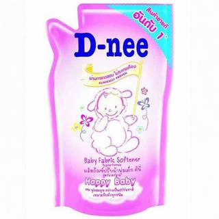 D-Dee Fabric Softener Happy Baby 600 ml. Refill bag, 6 bags