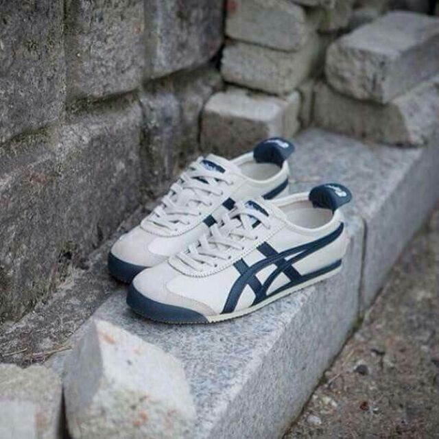 outlet store 6323c 1058b Onitsuka Tigee Mexico 66 (Birch/Indian Ink/Latte)