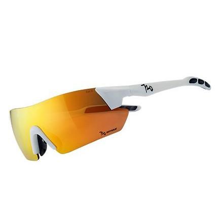 แว่นตากันแดด 720armour รุ่น Kamikaze สีกรอบ Matte White สีเลนส์ Champion Gold Ti