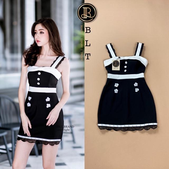 Dress สีดำ งานBLT Xs s m