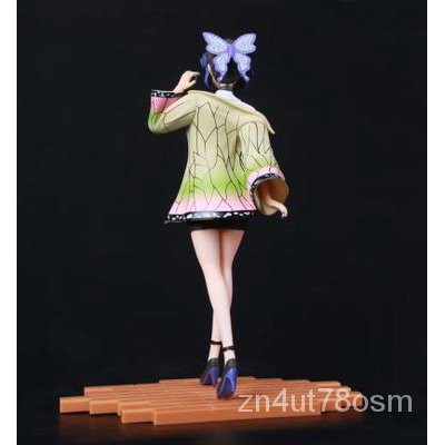 Ready sctok1725cm Jaan Anime Demon Slayer Kochou Shinobu VC Action Figure Toy Kamado Nezuko Kochou Shinobu Sexy Girl Fig