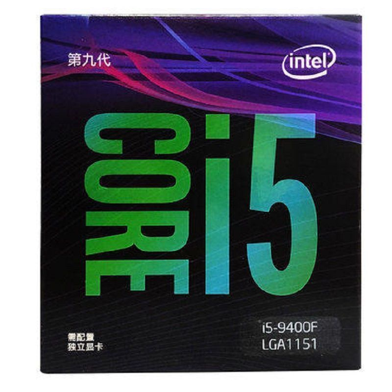 applewatch series 6✌℗โปรเซสเซอร์ Intel/Intel CPU i5-9400/9400F/9600 คอมพิวเตอร์เล่นเกมเดสก์ท็อปที่มี 6 คอร์และ 6 เธรด