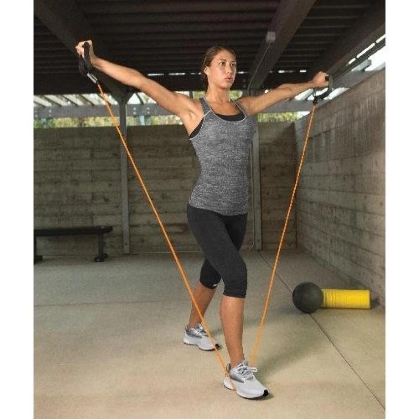 ยางยืดออกกำลังกาย SKLZ TRAINING CABLE - LIGHT(Orange) ผ้ายืดออกกำลังกาย ยางยืดแรงต้าน  ยางยืดออกกำลังกายแรงต้านสูง