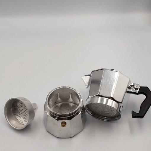 FPC เครื่องบดอาหาร YOYOCAM Moka Pot หม้อต้มกาแฟสด มอคค่าพอท สำหรับ 3 Cup / 150 ml + เตาพกพา ทำ เครื่องปั่น  เครื่องบดสับ