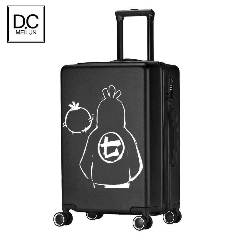 กระเป๋าเดินทางแบบมีล้อเลื่อน Unisex 24