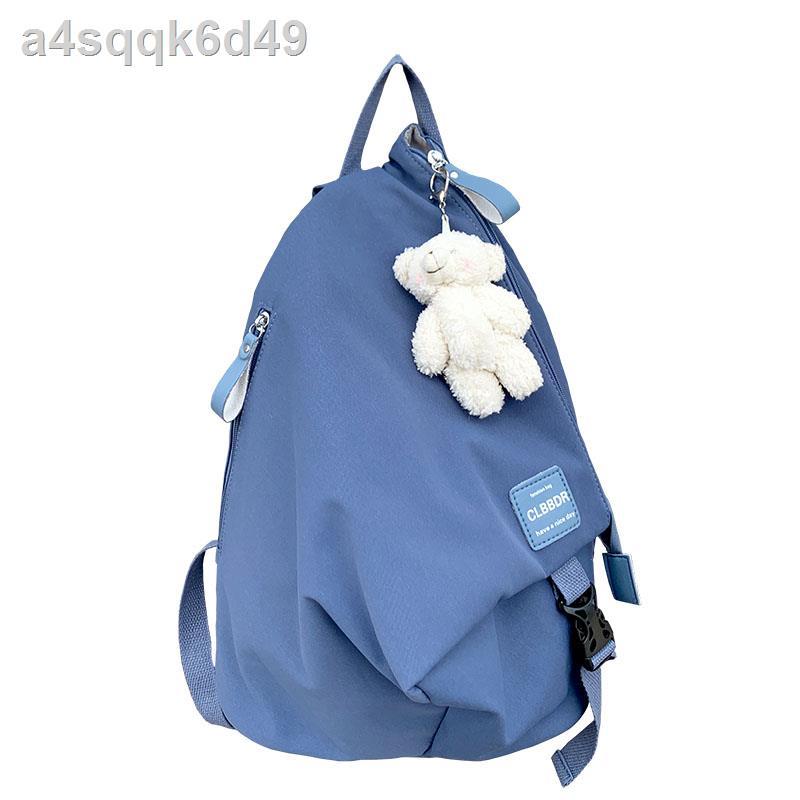 ◘กระเป๋านักเรียนหญิงเฉพาะเจาะจงสไตล์ญี่ปุ่น 2021 กระเป๋าเป้สะพายหลังใบเล็กกระเป๋าช้อปปิ้งสำหรับการเดินทางในชุด Mori