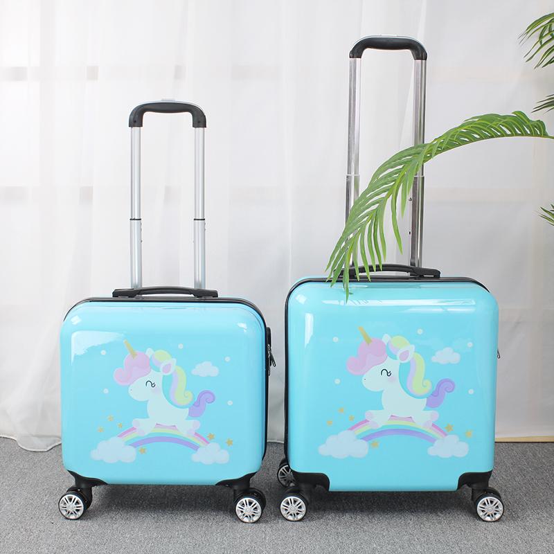 ゅ☂ กระเป๋าเดินทางล้อลากใบเล็ก กระเป๋าเดินทางล้อลากรถเข็นเด็กกระเป๋าเดินทางกระเป๋าผู้หญิงกระเป๋าเดินทางขนาดเล็กที่มีน้ำหน