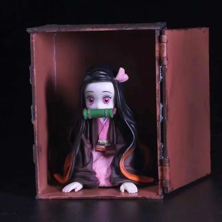 ❏anime wholesale Demon Slayer Blade Box Nidouzi model boxed figure