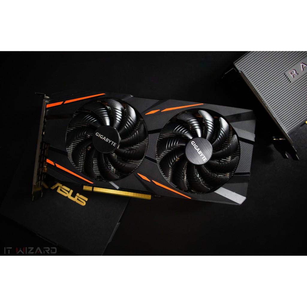 (มีของพร้อมส่ง ผ่อน0%) GIGABYTE RX 580 Gaming 8G มือสอง