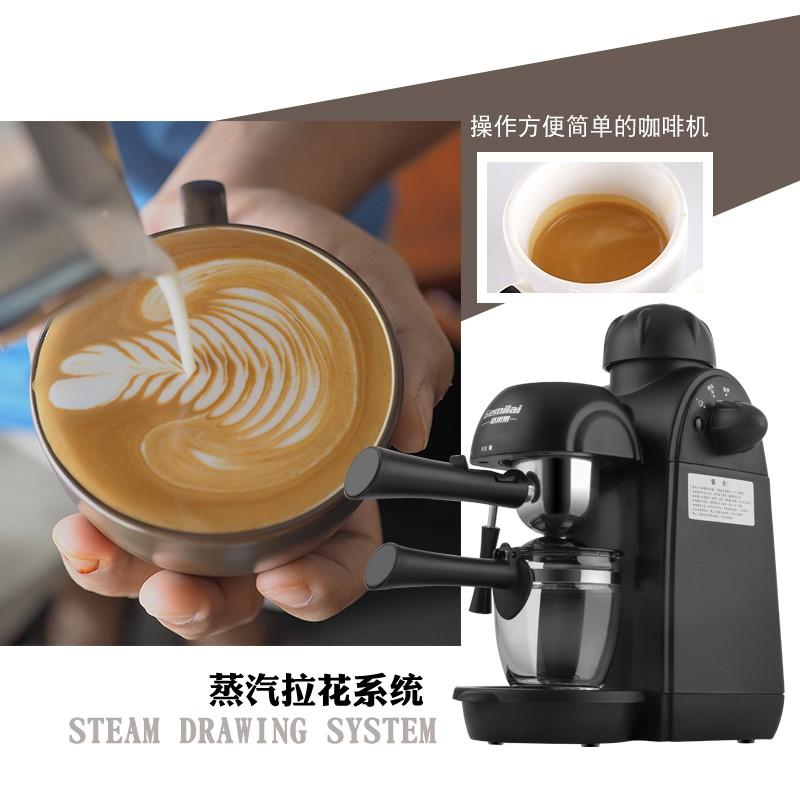 ぜℱเครื่องชงกาแฟแคปซูลเครื่องชงกาแฟสดGamilai CRM2008 เครื่องชงกาแฟเอสเปรสโซในครัวเรือนขนาดเล็กเครื่องทำฟองนมแบบกึ่งอัตโนม