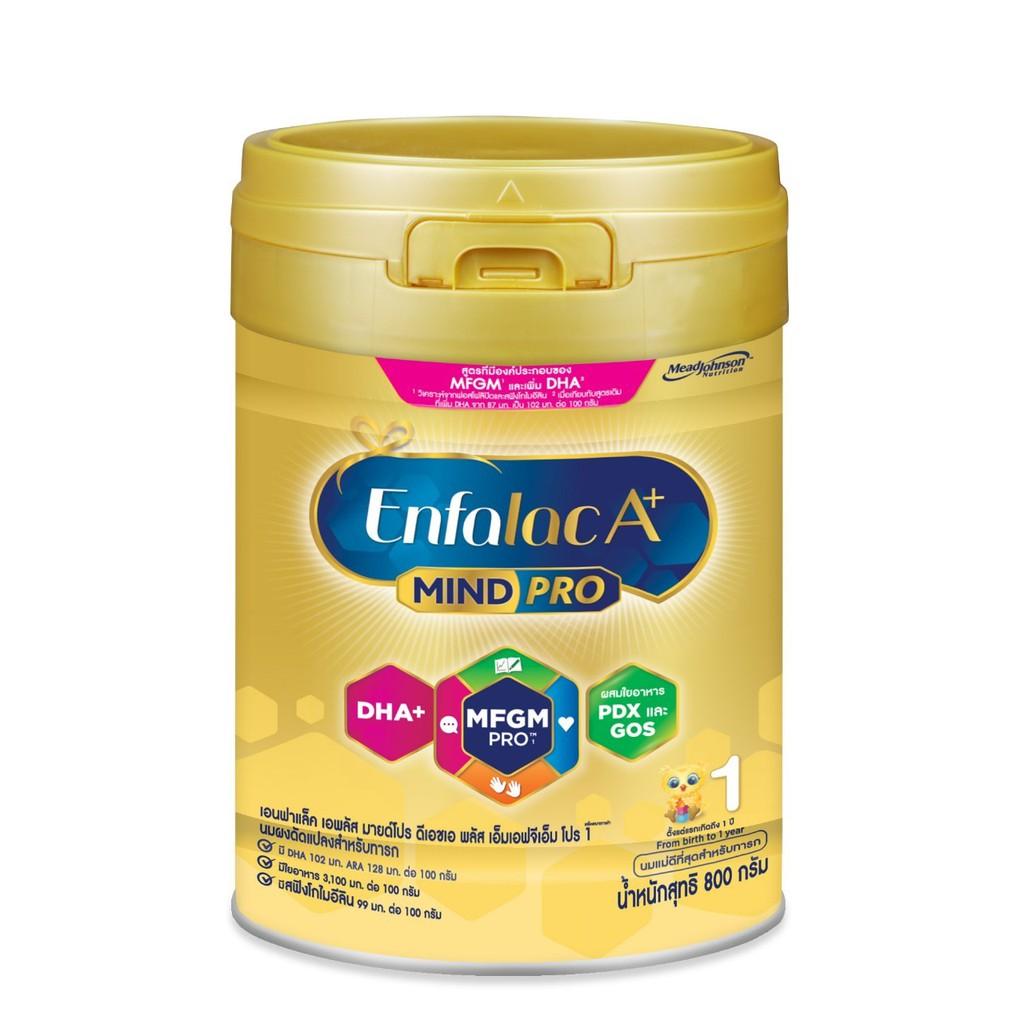 EnfalacA+ เอนฟาแล็คเอพลัส สำหรับแรกเกิด-1ปี สูตร 1 ขนาด 800 กรัม ( 1 กระปุก )
