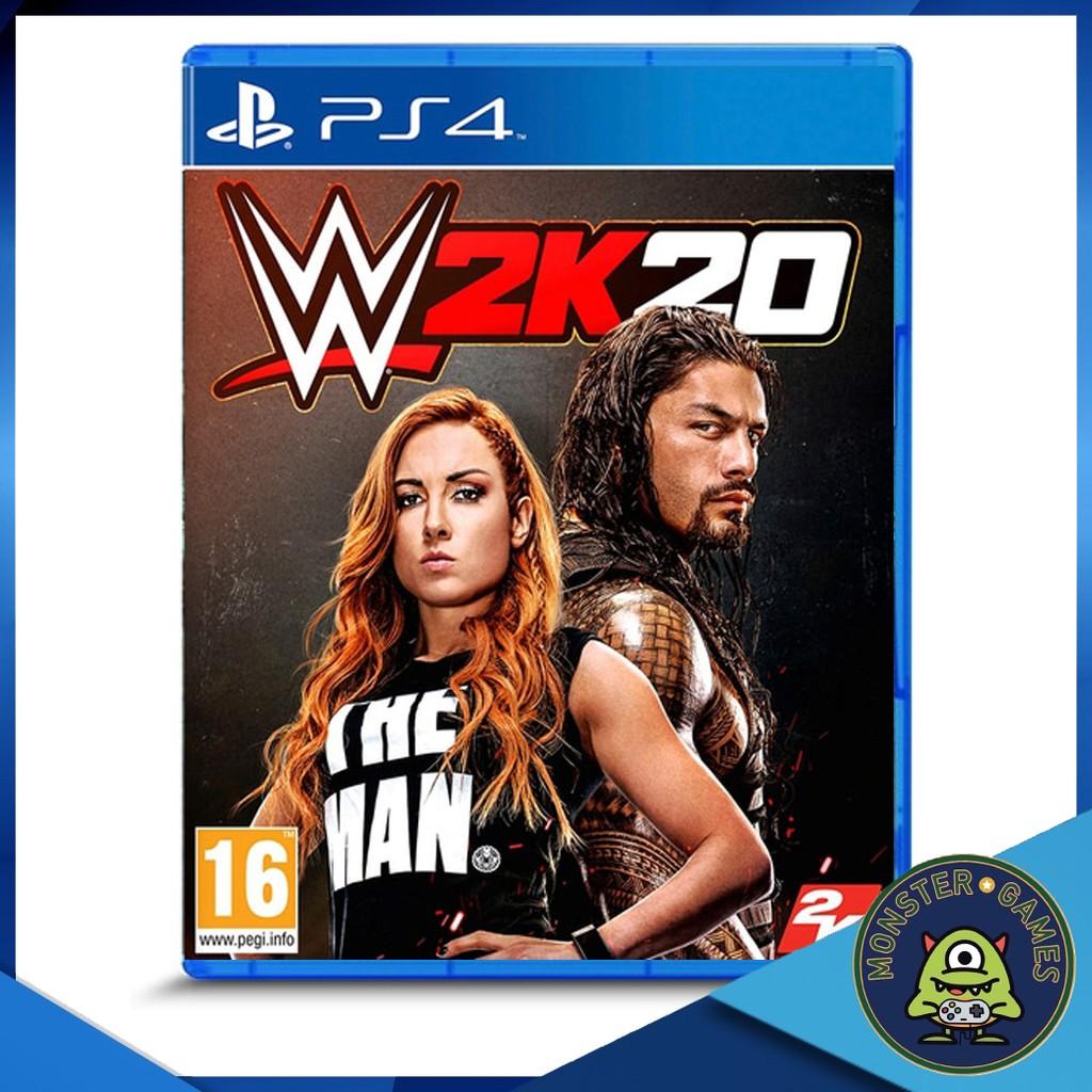 W2K20 Ps4 แผ่นแท้มือ1!!!!! (Ps4 games)(Ps4 game)(เกมส์ Ps.4)(แผ่นเกมส์Ps4)(WWE 2K20 Ps4)(W2K2020 Ps4)(WWE 2020 Ps4)