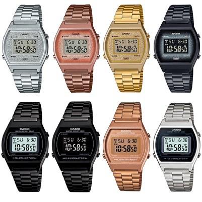 Casio Standard สำหรับผู้หญิง B640WCG-5,B640WGG-9,B640WBG-1B,B640WDG-7,B640WC-5,B640WD-1,B640WB-1A,B640WB-1B