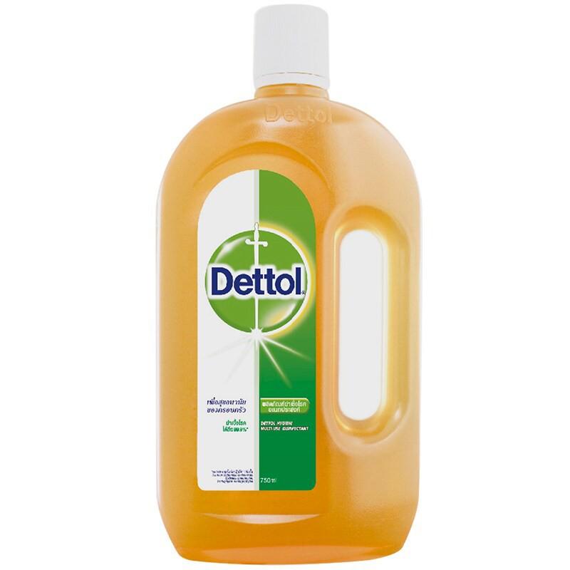 เดทตอล Dettol Antiseptic น้ำยาฆ่าเชื้อโรค ฆ่าเชื้อแบคทีเรีย ได้ถึง 99.9% แถมเจลล้างมือ