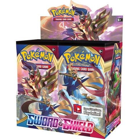 Pokemon TCG SWSH1 SS1 Sword and Shield English Booster Box Factory Sealed Brand New โปเกมอน อังกฤษ (Ships 7 Feb 2020)