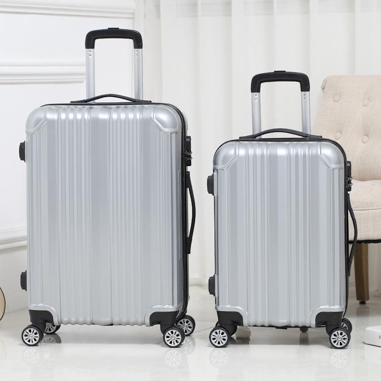 กระเป๋าเดินทางกล่องเดินทางกระเป๋ายากกระเป๋าเดินทางขนาดเล็กรถเข็นกระเป๋าเดินทางล้อผู้ชายและผู้หญิง24-นิ้ว22-นิ้ว26-นิ้วนั